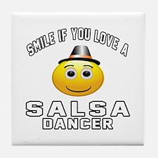 Salsa Dancer Designs Tile Coaster