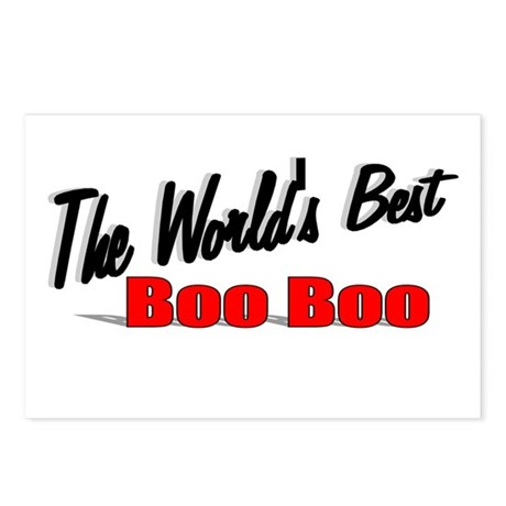 """The World's Best Boo Boo"" Postcards (Package of 8"