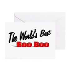 """""""The World's Best Boo Boo"""" Greeting Cards (Pk of 1"""