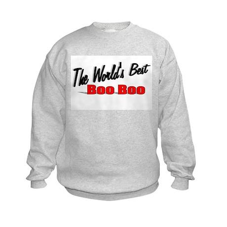 """The World's Best Boo Boo"" Kids Sweatshirt"