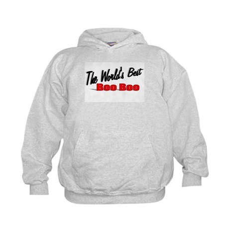 """The World's Best Boo Boo"" Kids Hoodie"