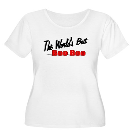 """""""The World's Best Boo Boo"""" Women's Plus Size Scoop"""