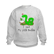 Love My Little Brother SNAKES Sweatshirt