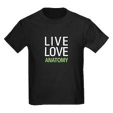 Live Love Anatomy T
