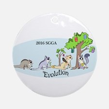 Sgga 2016 Logo Round Ornament