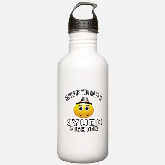 Kyudo Fighter Designs Water Bottle