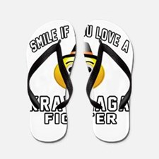 Krav Maga Fighter Designs Flip Flops