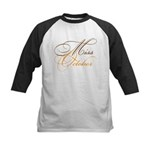 Miss October Beauty Pageant Kids Baseball Jersey