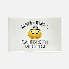 Kajukenbo Fighter Designs Rectangle Magnet