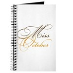 Miss October Beauty Pageant Journal