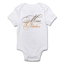 Miss October Beauty Pageant Onesie