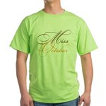 Miss October Beauty Pageant Green T-Shirt
