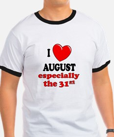 August 31st T