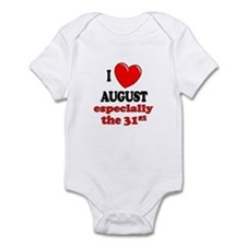 August 31st Infant Bodysuit