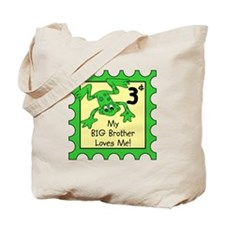 My Big Brother Loves Me FROGS Tote Bag