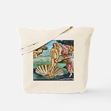 The Birth of Venus - Botticelli Tote Bag