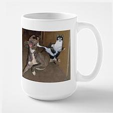 Funny Kung Fu Kitty Mugs