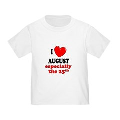 August 25th T