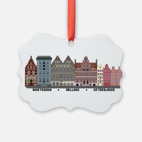 Amsterdam Holland Ornament