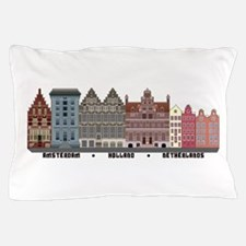 Amsterdam Holland Pillow Case