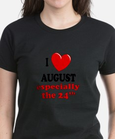 August 24th Tee