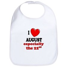 August 22nd Bib