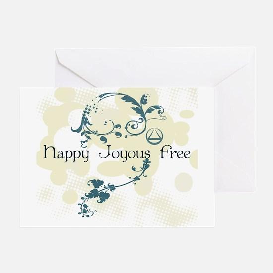 Happy Joyous Free! Greeting Cards