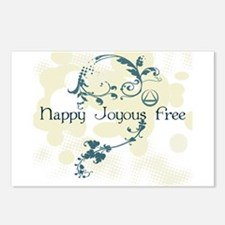 happy3.png Postcards (Package of 8)