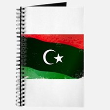 Libya Flag Grunge Journal