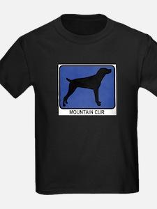 Mountain Cur (blue) T-Shirt