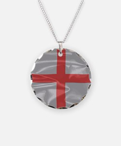 England Flag of St George Necklace