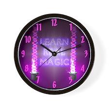 Learn Real Magic Wall Clock