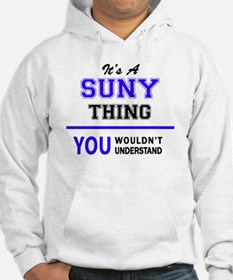 It's SUNY thing, you wouldn't un Hoodie