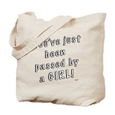 Passed by a Girl Tote Bag
