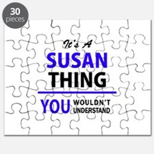It's SUSAN thing, you wouldn't understand Puzzle