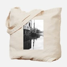 Suffolk Barges Tote Bag