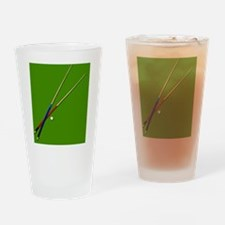 Cute Pocket art Drinking Glass