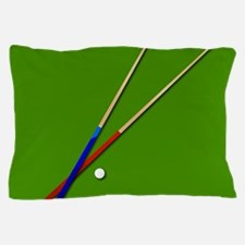 Snooker Cues Pillow Case