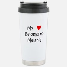 Cute My heart belongs to my aunt Thermos Mug