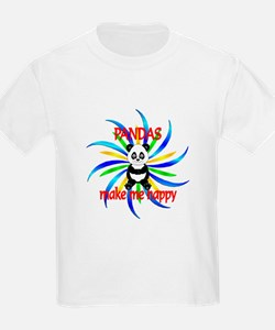 Pandas Make Me Happy T-Shirt