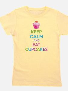 Cute Cupcake Girl's Tee