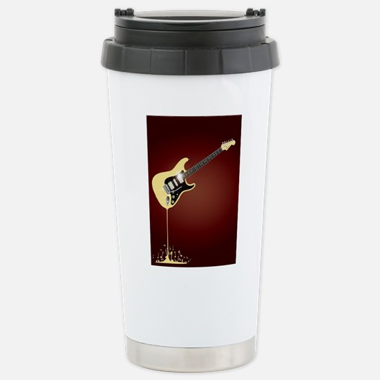 Fluid Guitar Stainless Steel Travel Mug