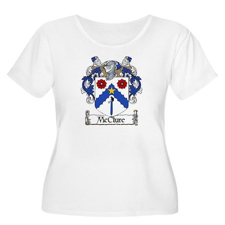 McClure Coat of Arms Women's Plus Size Scoop Neck