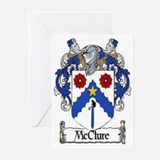 McClure Coat of Arms Greeting Cards (Pk of 20)
