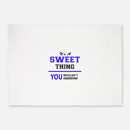 It's SWEET thing, you wouldn't unde 5'x7'Area Rug