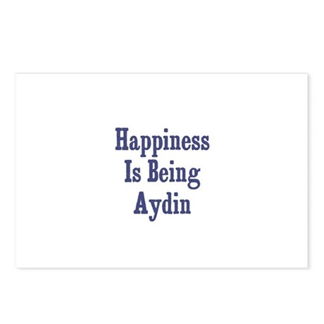 Happiness is being Aydin Postcards (Package of 8)