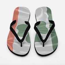 Irish SIlk Flag Flip Flops