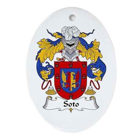 Soto Oval Ornament
