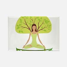 Namaste Tree Magnets