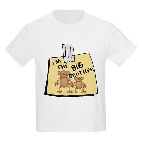 I'm The Big Brother NOTE Kids Light T-Shirt